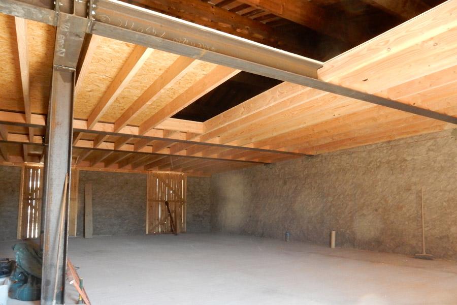 cr ation d 39 un plancher de 100 m2 marseillan une r alisation ethique habitat h rault. Black Bedroom Furniture Sets. Home Design Ideas