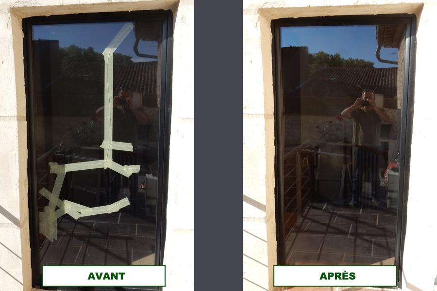 Changement de double vitrage pinet une r alisation - Cout changement fenetre double vitrage ...